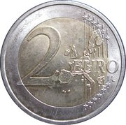 2 Euro (Olympic Games) -  reverse