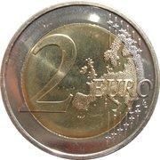 2 Euro (Special Olympics) -  reverse