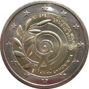 2 Euro (Special Olympics) -  obverse