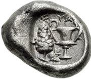 Drachm (Syangela) – reverse