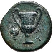 Bronze Æ11 (Syangela) – reverse