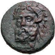 Bronze Æ19 (Aphytis) – obverse