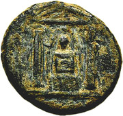 Bronze Æ16 (Perge) – obverse