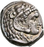 Tetradrachm (Uncertain Punic mint) – obverse