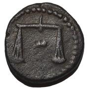 Bronze Æ14 - Nectanebo II (Levantine region) – obverse