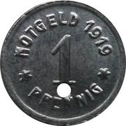 1 Pfennig - Greiffenberg – obverse