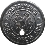 1 Pfennig - Greiffenberg – reverse