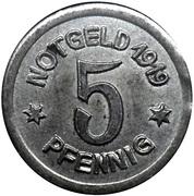 5 Pfennig - Greiffenberg – obverse