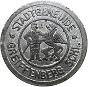 5 Pfennig - Greiffenberg – reverse