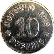 10 Pfennig - Greiffenberg – obverse