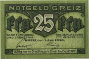 25 Pfennig (Bank für Handel und Industrie) – obverse