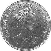 10 Dollars - Elizabeth II (Royal Visit) – obverse
