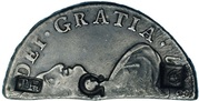 6 Bits / 4 Shillings 6 Pence – obverse