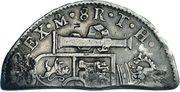 6 Bits / 4 Shillings 6 Pence – reverse