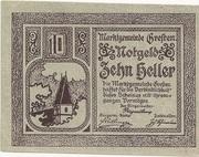 10 Heller (Gresten) -  reverse