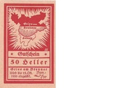 50 Heller (Gries am Brenner) – obverse