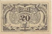 20 Heller (Grieskirchen) -  reverse