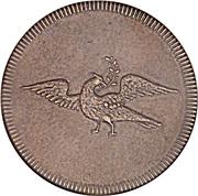 ¼ 'Penny' (Griqua Town) – obverse