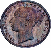 1 Penny - Victoria (Griqua Town Pattern) – obverse