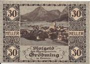 30 Heller (Gröbming) – obverse