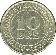 10 Øre (Ivigtut Cryolite Mining) – reverse