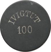 100 Øre (Ivigtut Cryolite Mining) – obverse