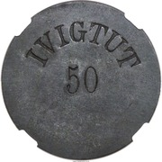 50 Øre (Ivigtut Cryolite Mining) – obverse