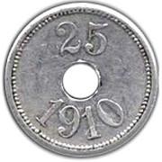 25 Øre (Thule-Kap York) – reverse