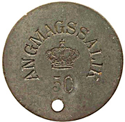 50 Øre (Royal Greenland Trade Company) – obverse
