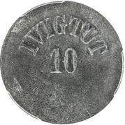 10 Øre (Ivigtut Cryolite Mining) – obverse