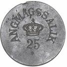 25 Øre (Royal Greenland Trade Company) – obverse