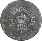 100 Øre (Royal Greenland Trade Company) – obverse