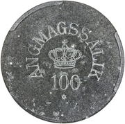 100 Øre (Royal Greenland Trade Company) – obverse