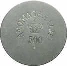 500 Øre (Royal Greenland Trade Company) – obverse