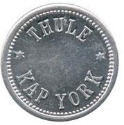 5 Øre (Thule-Kap York; without center hole) – obverse