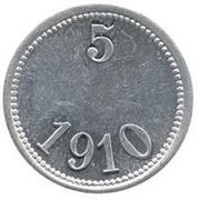 5 Øre (Thule-Kap York; without center hole) – reverse