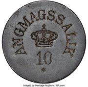 10 Øre (Royal Greenland Trade Company) – obverse