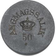 50 Øre (Royal Greenland Trade Company) – obverse