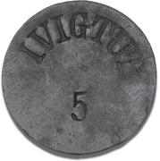 5 Øre (Ivigtut Cryolite Mining) – obverse