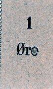 1 Øre – obverse