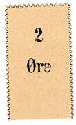 2 Øre – obverse