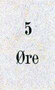 5 Øre – obverse