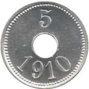 5 Øre (Thule-Kap York) – reverse