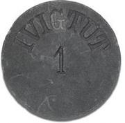 1 Øre (Ivigtut Cryolite Mining) – obverse