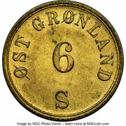 6 Skilling (A. Gibbs & Sons) – obverse