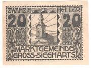 20 Heller (Gross-Siegharts) – obverse