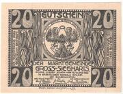 20 Heller (Gross-Siegharts) – reverse