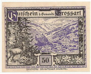 50 Heller (Grossarl) – obverse