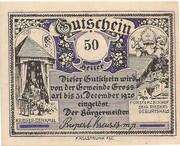 50 Heller (Grossarl) – reverse