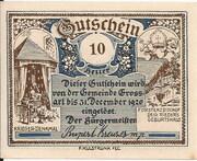 10 Heller (Grossarl) – obverse